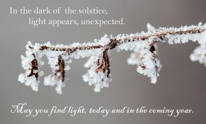 Solstice greetings 2013